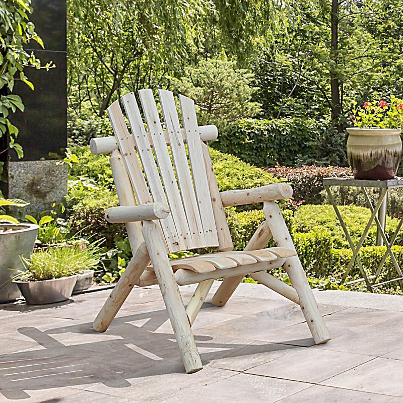 gartenstuhl mit hoher r ckenlehne farbe natur gr e 68 x 83 x 101 cm bxlxh. Black Bedroom Furniture Sets. Home Design Ideas