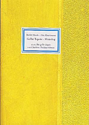 gelbe tapete monolg buch jetzt bei online. Black Bedroom Furniture Sets. Home Design Ideas