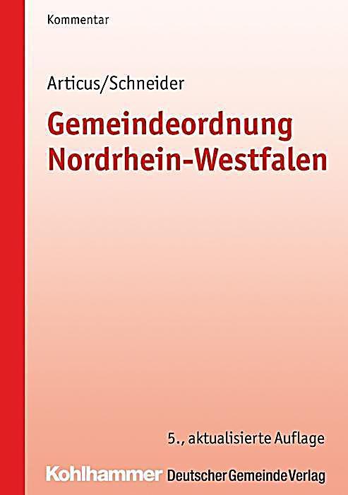 gemeindeordnung nordrhein westfalen go nrw kommentar buch. Black Bedroom Furniture Sets. Home Design Ideas