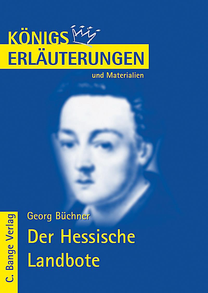 Georg Büchner 'Der Hessische Landbote' Buch portofrei ...