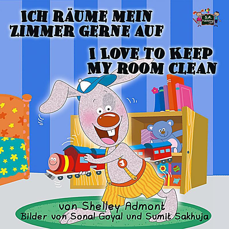 german english bilingual collection ich r ume mein zimmer gerne auf i love to keep my room. Black Bedroom Furniture Sets. Home Design Ideas