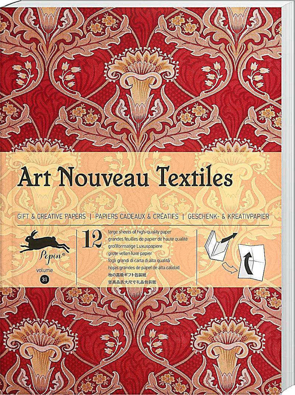 geschenkpapier art nouveau textiles bestellen. Black Bedroom Furniture Sets. Home Design Ideas