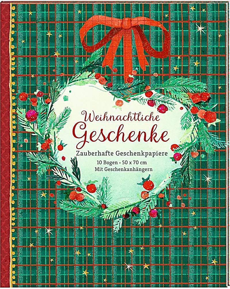 Geschenkpapier buch weihnachtliche geschenke for Geschenke weltbild