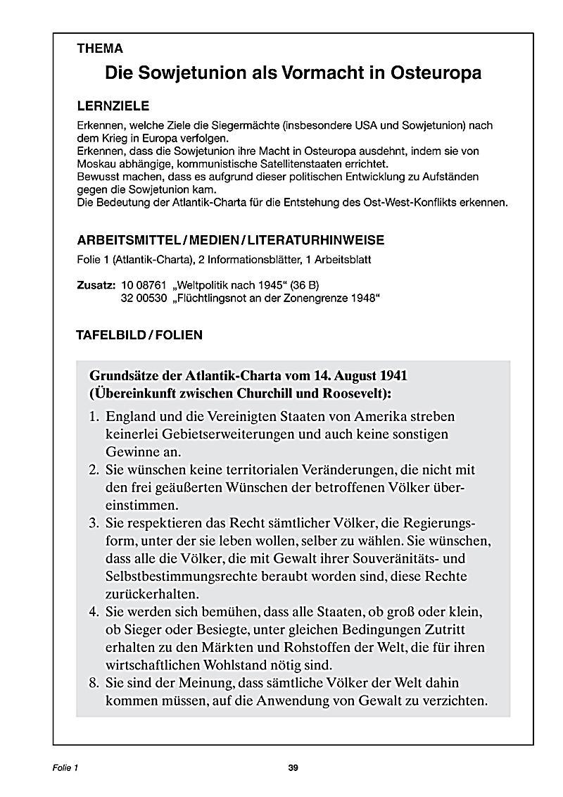 Geschichte aktuell: Von Potsdam bis ins neue Jahrtausend Buch