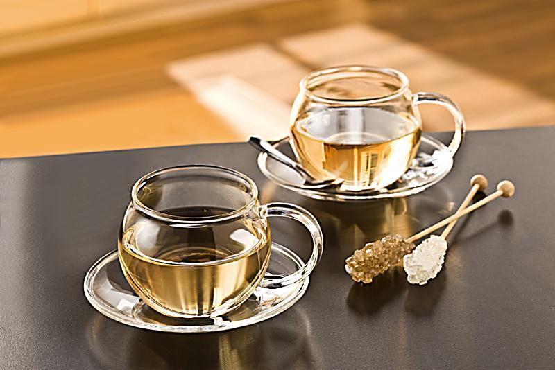 Teetassen Glas glas teetassen 2er set jetzt bei weltbild de bestellen