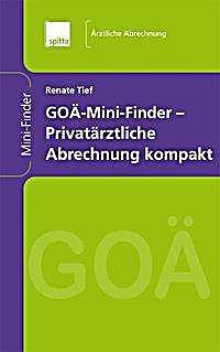 Privatärztliche Abrechnung : go mini finder privat rztliche abrechnung kompakt jetzt kaufen ~ Themetempest.com Abrechnung