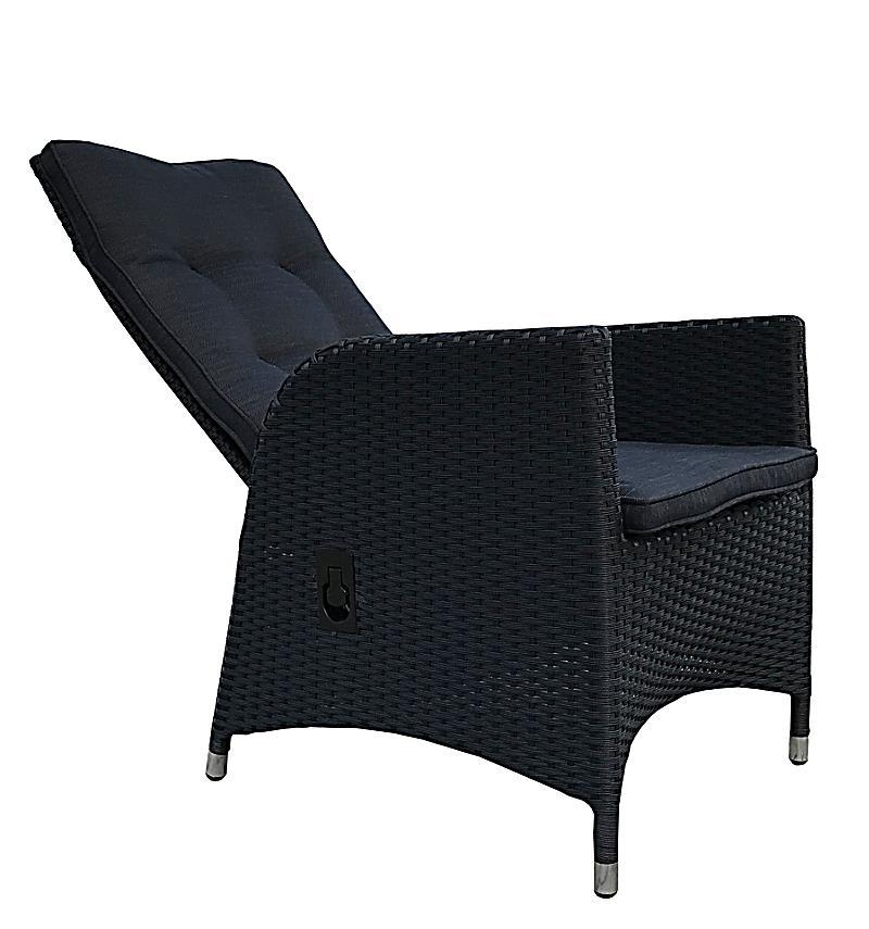 Grasekamp 2 Stück Polyrattan Sessel Mit Auflagen Gasdruck Gartensessel  Verstellbar Gartenmöbel Stuhl Rattan Geflecht   Produktdetailbild ...