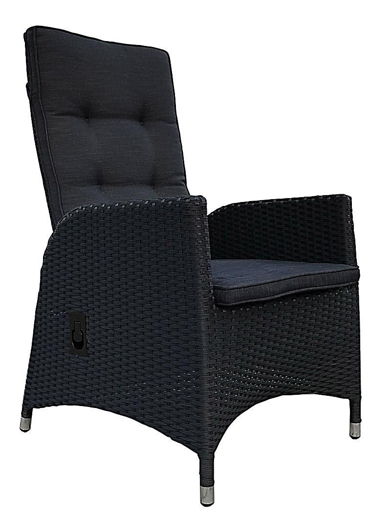 Charmant Grasekamp 2 Stück Polyrattan Sessel Mit Auflagen Gasdruck Gartensessel  Verstellbar Gartenmöbel Stuhl Rattan Geflecht