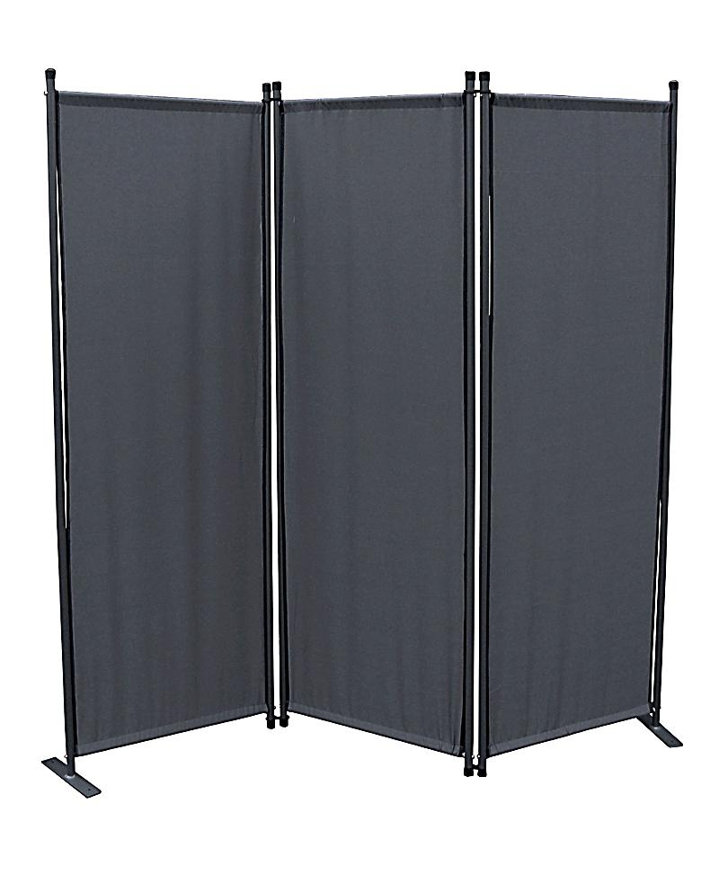 grasekamp paravent 3 teilig farbe grau bestellen. Black Bedroom Furniture Sets. Home Design Ideas