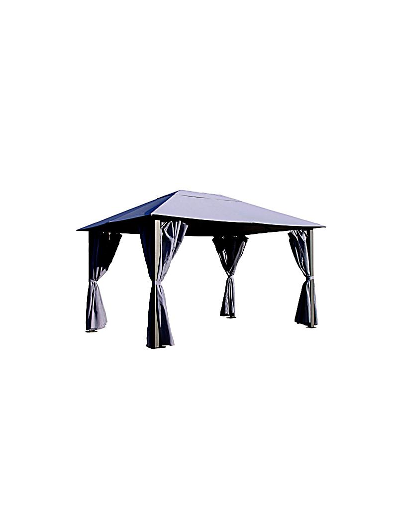 grasekamp pavillon paris 3 x 4 m farbe anthrazit. Black Bedroom Furniture Sets. Home Design Ideas