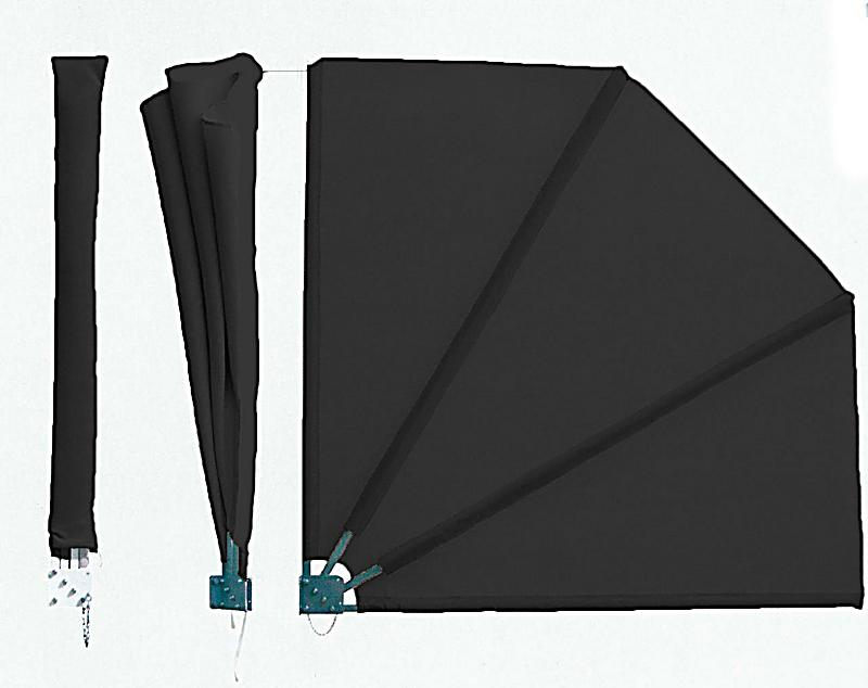 grasekamp sichtschutz f cher premium farbe grau. Black Bedroom Furniture Sets. Home Design Ideas