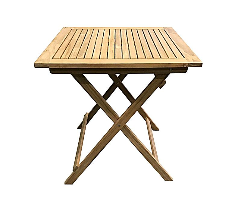 Gartentische  Grasekamp Teak Tisch 70x70cm Gartentische Bistrotisch Balkontisch ...