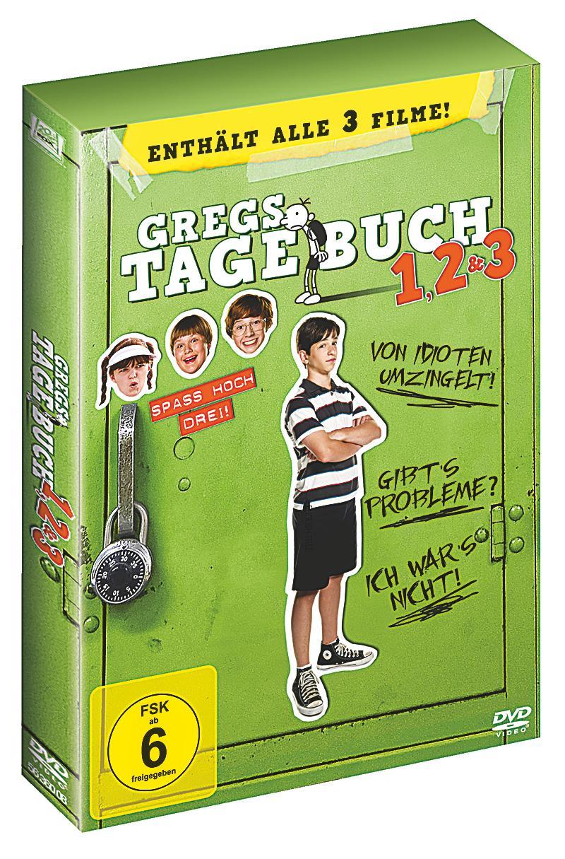 Gregs Tagebuch 1 - 3 DVD jetzt bei Weltbild.de online bestellen