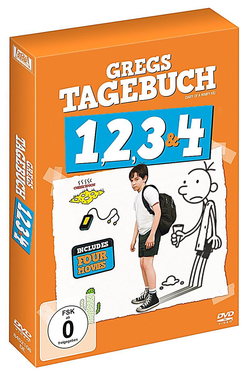 Gregs Tagebuch 1 - 4 DVD jetzt bei Weltbild.de online bestellen