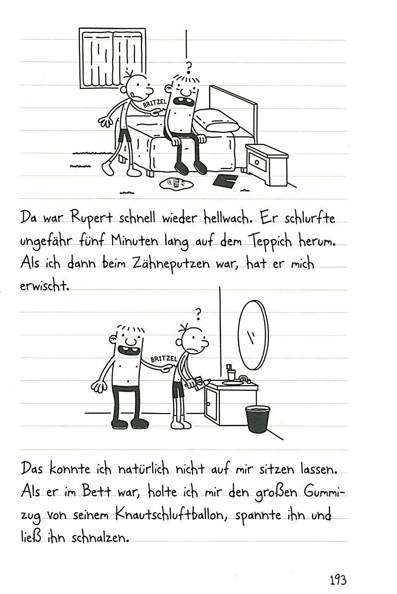 Gregs Tagebuch 3 Ich WarS Nicht