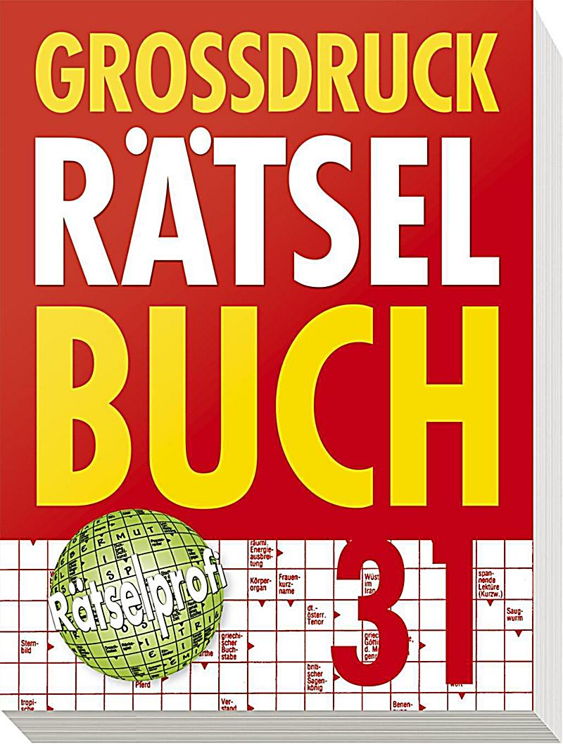 Grossdruck Rätselbuch Band 31