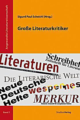 gro e literaturkritiker buch portofrei bei. Black Bedroom Furniture Sets. Home Design Ideas