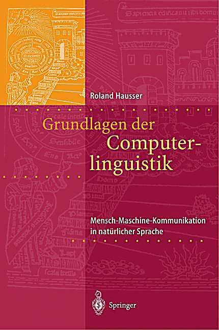 Grundlagen der computerlinguistik buch portofrei bei for Grundlagen der tragwerkslehre