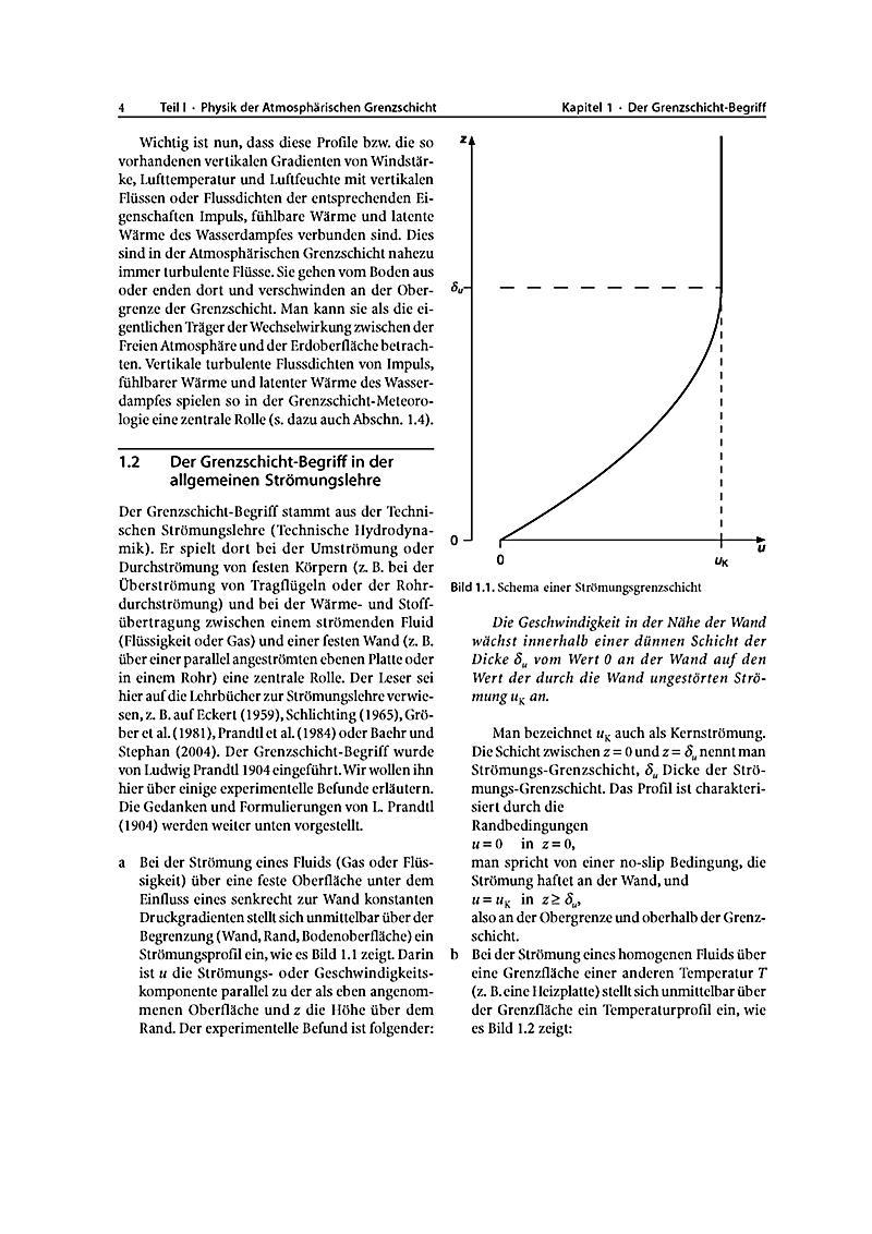 Grundlagen der grenzschicht meteorologie buch portofrei for Grundlagen der tragwerklehre 1