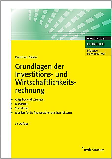 Grundlagen der investitions und for Grundlagen der tragwerklehre 1