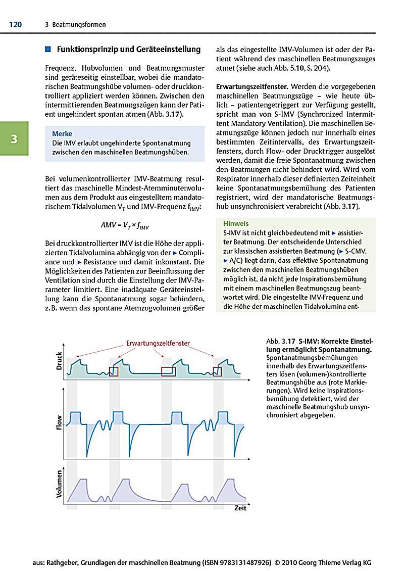 Grundlagen der maschinellen beatmung buch portofrei for Grundlagen der tragwerklehre 1