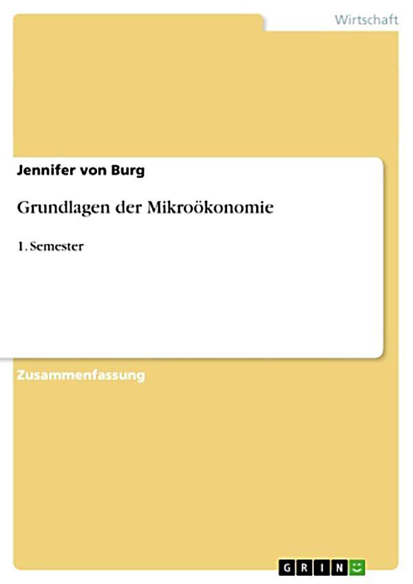 Grundlagen der mikro konomie ebook jetzt bei for Grundlagen der tragwerklehre 1