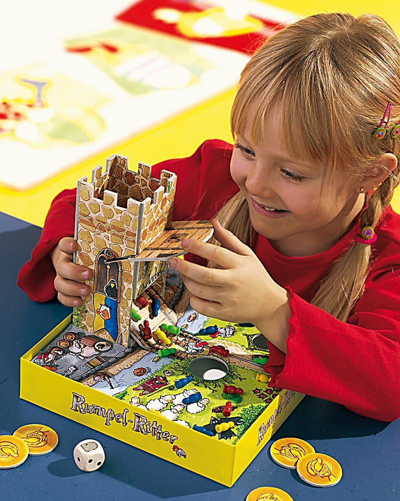 haba 4461 rumpel ritter kinderspiel bestellen. Black Bedroom Furniture Sets. Home Design Ideas