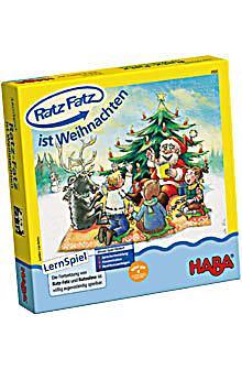 haba ratz fatz ist weihnachten lernspiel. Black Bedroom Furniture Sets. Home Design Ideas