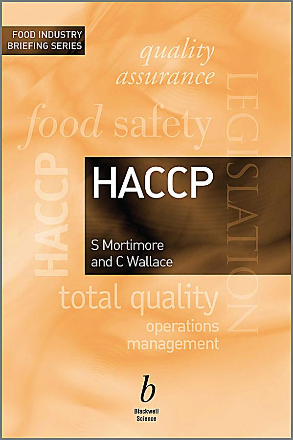 haccp pdf Hazard analysis critical control point the centersfor disease controland prevention'svessel sanitation program is proud to.