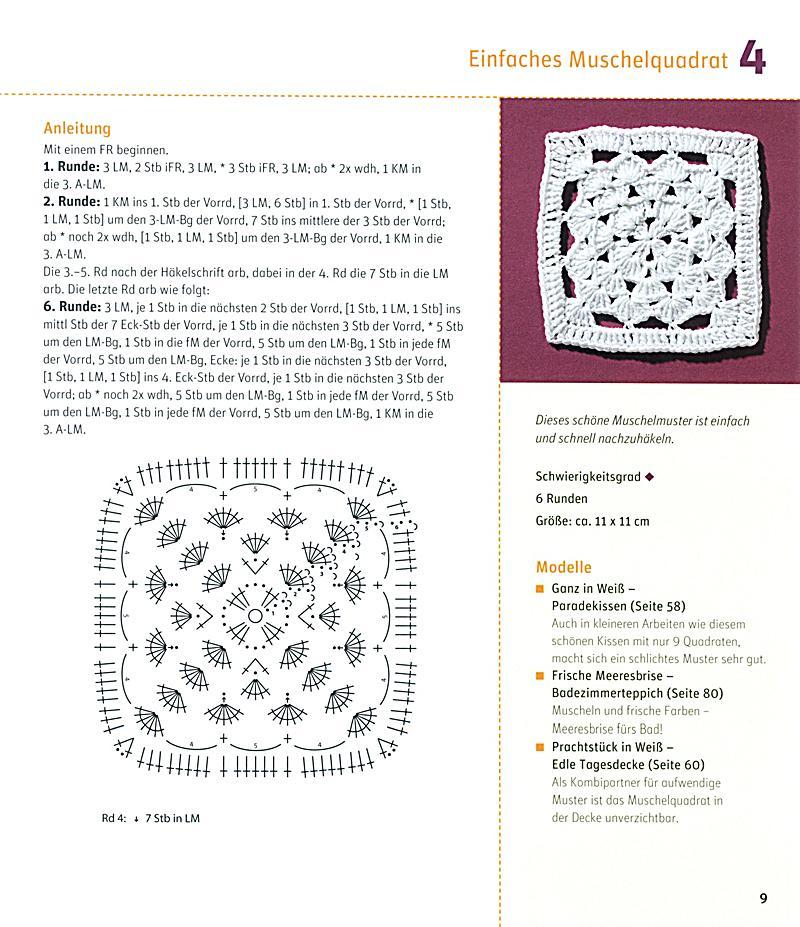 Häkeln im Quadrat Buch von Stephanie Thies portofrei - Weltbild.ch