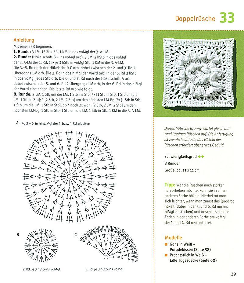 Häkeln im Quadrat Buch von Stephanie Thies portofrei - Weltbild.de