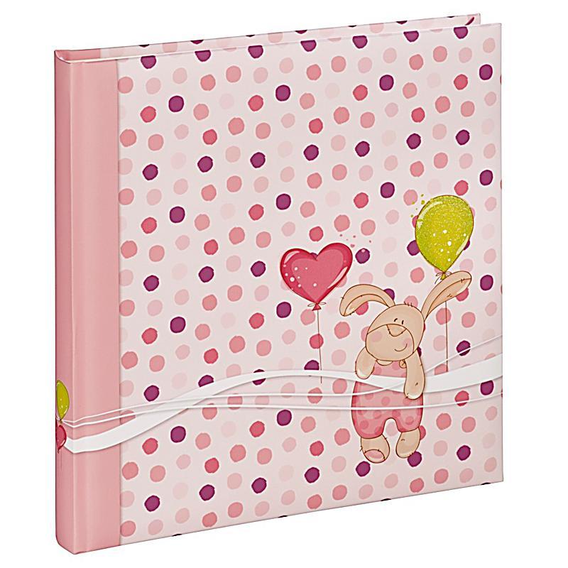 hama buch album kleiner hase 29x32 cm 50 weisse seiten pink. Black Bedroom Furniture Sets. Home Design Ideas