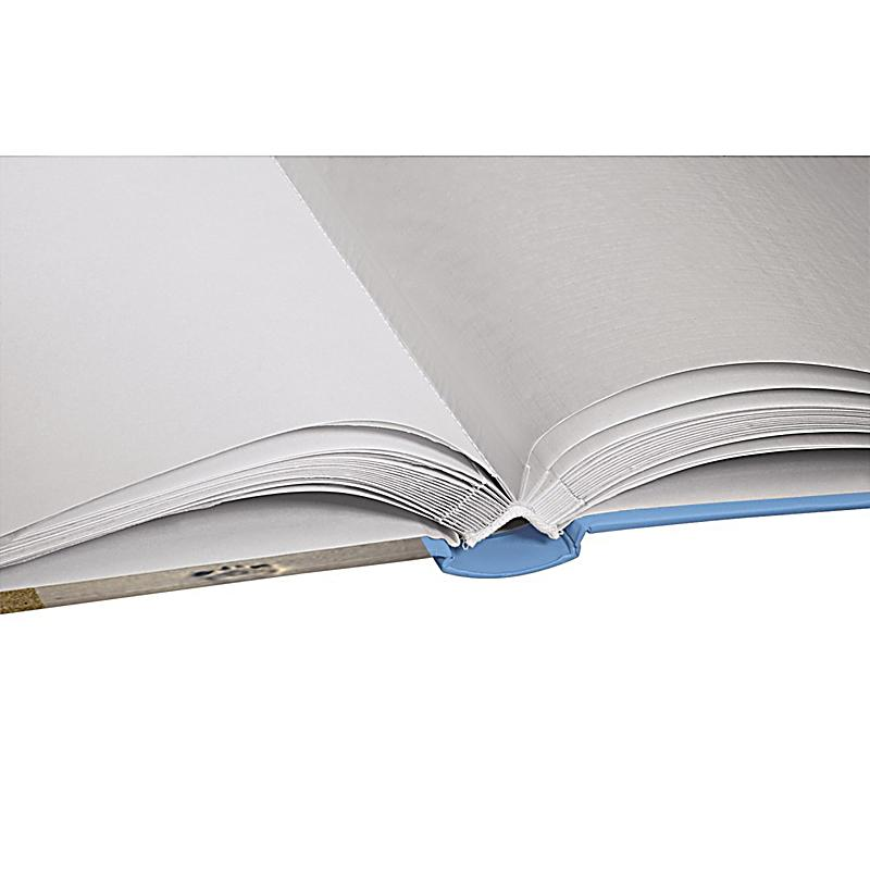 hama buch album sea shells 29x32 cm 60 weisse seiten blau. Black Bedroom Furniture Sets. Home Design Ideas