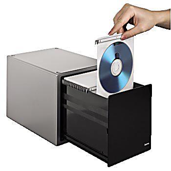 hama cd box magic touch 80 silber bestellen. Black Bedroom Furniture Sets. Home Design Ideas