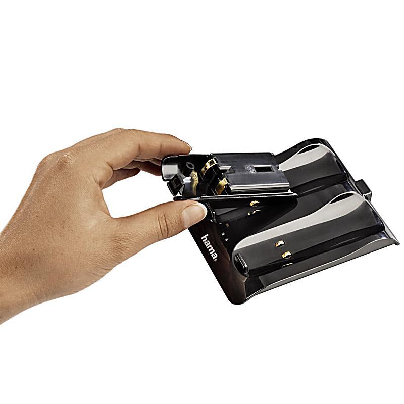 Hama Charger Dual Slim V2 F 252 R Nintendo Wii Schwarz