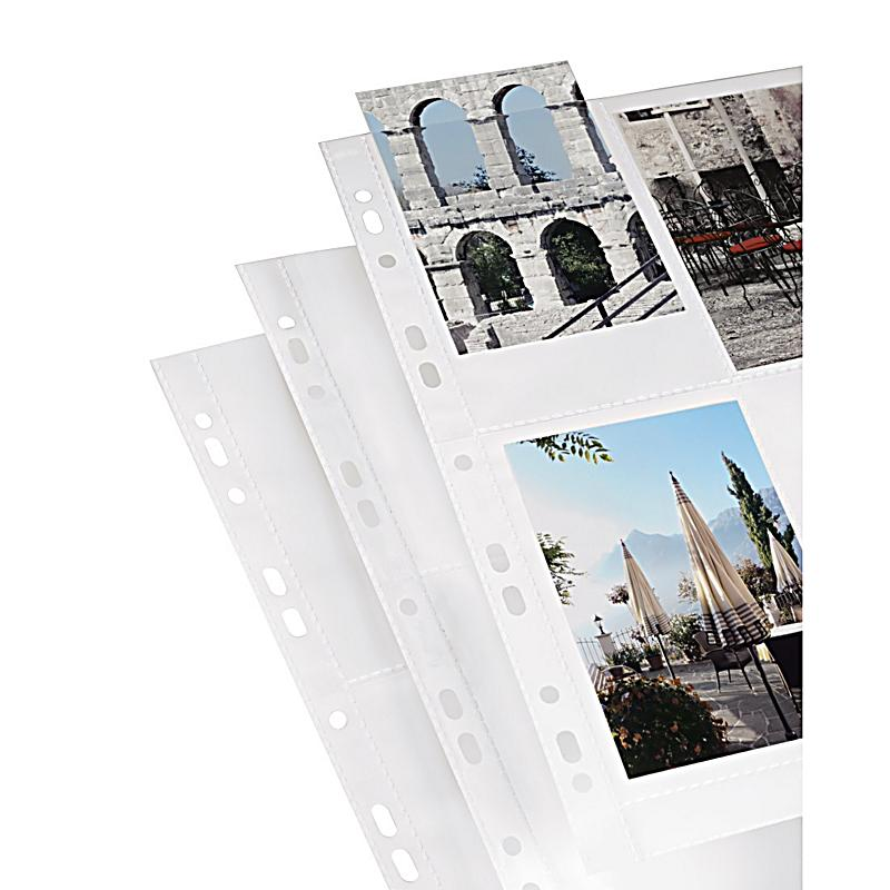 hama foto h llen din a4 f r 8 fotos im format 9x13 cm wei 10 st ck. Black Bedroom Furniture Sets. Home Design Ideas