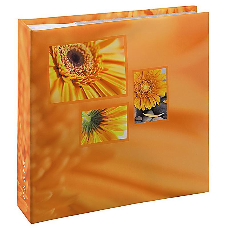 hama memo album singo f r 200 fotos im format 10x15 cm orange. Black Bedroom Furniture Sets. Home Design Ideas