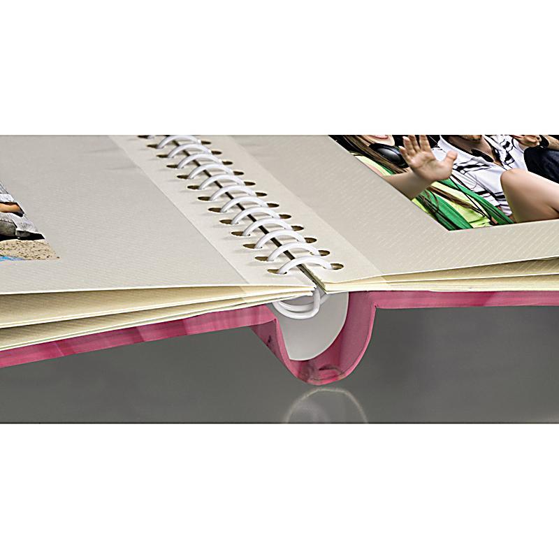 hama selbstklebe album singo 28x31 cm 20 weisse seiten pink. Black Bedroom Furniture Sets. Home Design Ideas