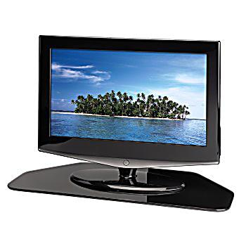 hama tv drehteller glas schwarz jetzt bei bestellen. Black Bedroom Furniture Sets. Home Design Ideas