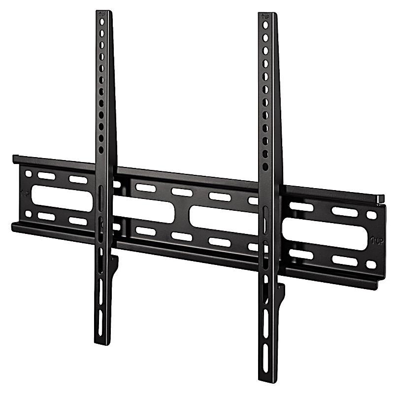 hama tv wandhalterung fix 3 sterne 165 cm 65 schwarz. Black Bedroom Furniture Sets. Home Design Ideas