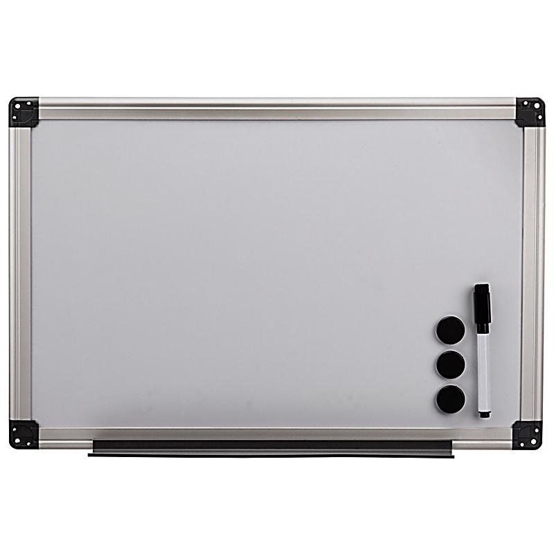 hama whiteboard 40 x 60 cm aluminium silber bei. Black Bedroom Furniture Sets. Home Design Ideas