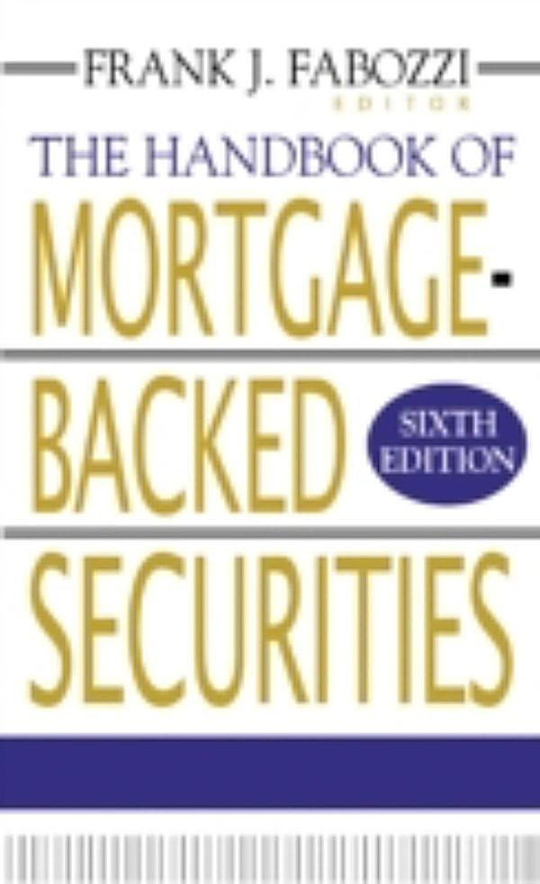 Mortgage Backed Securities Frank Fabozzi Pdf