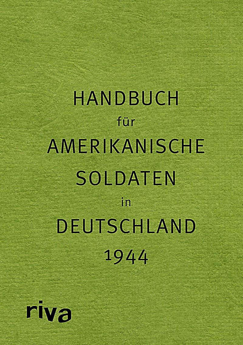 handbuch f r amerikanische soldaten in deutschland 1944 pocket guide to germany buch. Black Bedroom Furniture Sets. Home Design Ideas