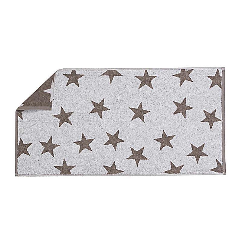 Cawö Handtuch Sterne : handtuch sterne im alloverdruck taupe weiss ~ Buech-reservation.com Haus und Dekorationen