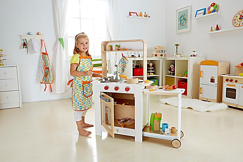 Hape all in one kuche kinderkuche spielkuche weltbildch for Hape kinderküche