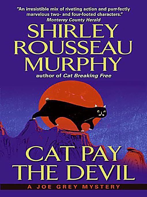 "Joe Grey Mystery ""Cat"" novels, by Shirley Rousseau Murphy Lot of 8 PBs G Cond."