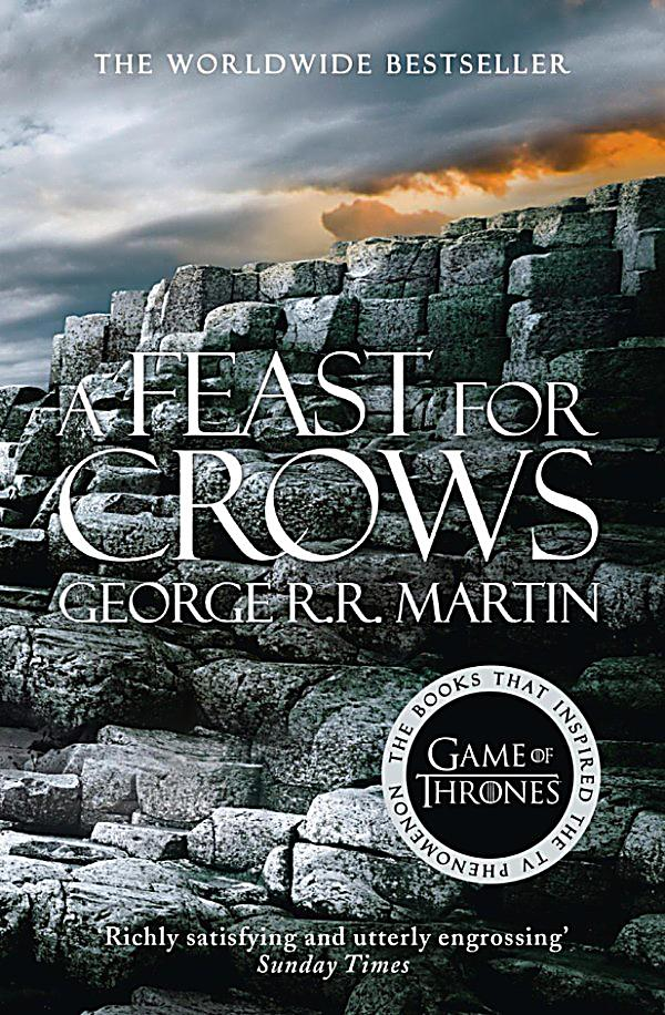 George RR Martin A Feast For Crows Game of Thrones 4 HC 1st Edition 1st Print VG