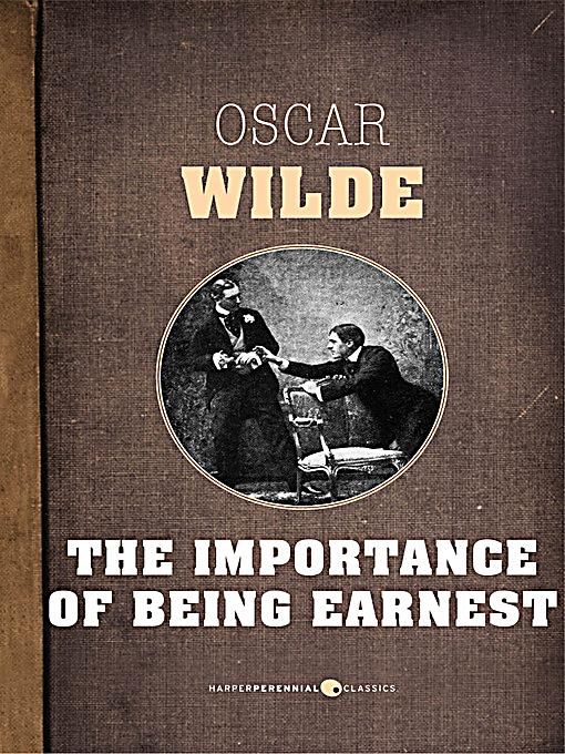 Harperperennial classics the importance of being earnest for Farcical comedy in the importance of being earnest