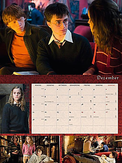 harry potter broschur xl 2015 kalender bei. Black Bedroom Furniture Sets. Home Design Ideas
