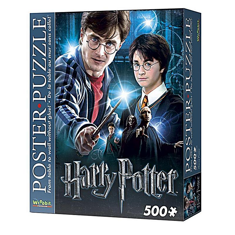 harry potter poster puzzle harry potter kinderpuzzle. Black Bedroom Furniture Sets. Home Design Ideas